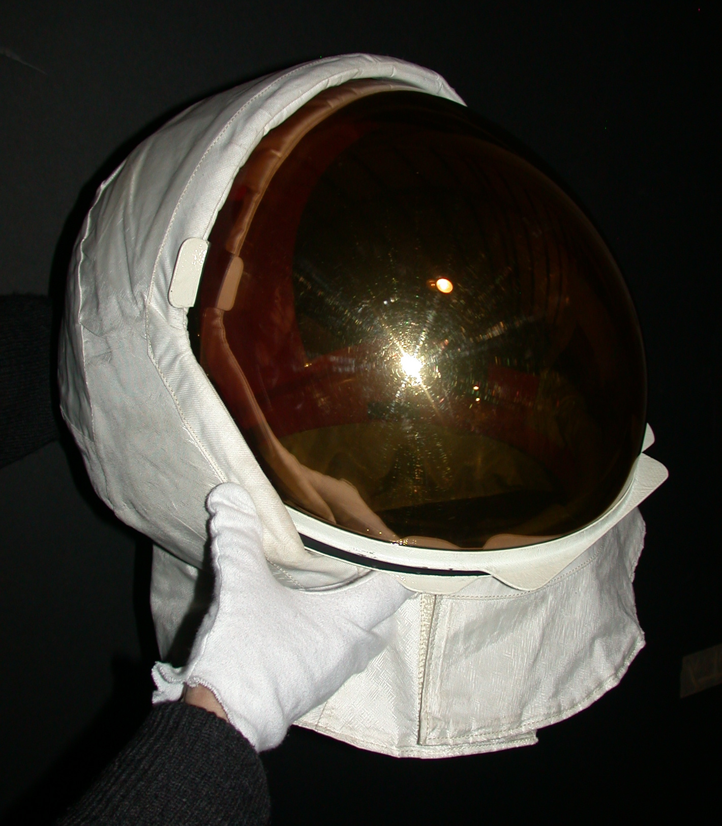 Top of Neil Armstrong's Helmet - Pics about space