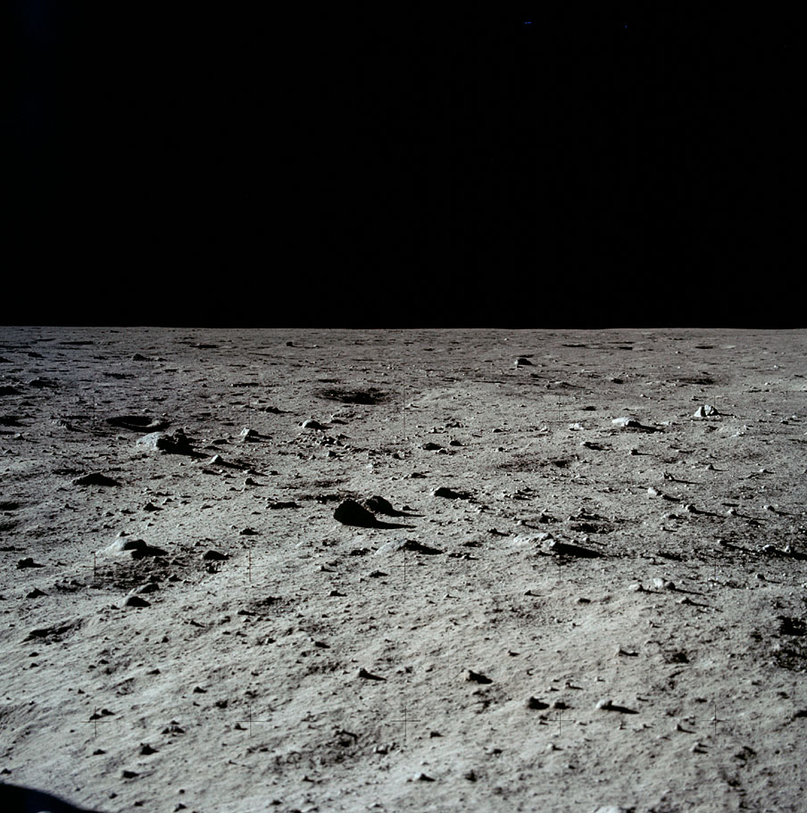 lunar landscape looking at earth - photo #33