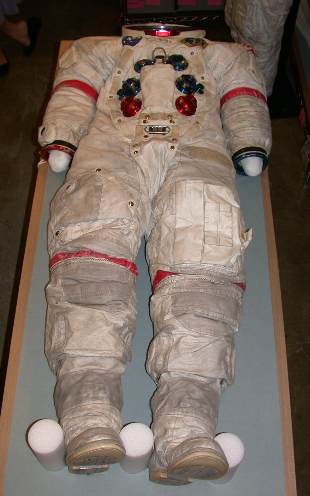 Nasa Space Suit Diagram Pics About