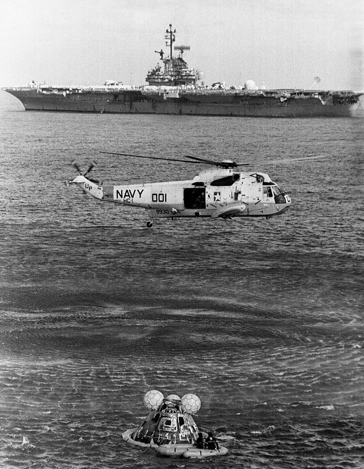apollo 10 recovery ship - photo #12