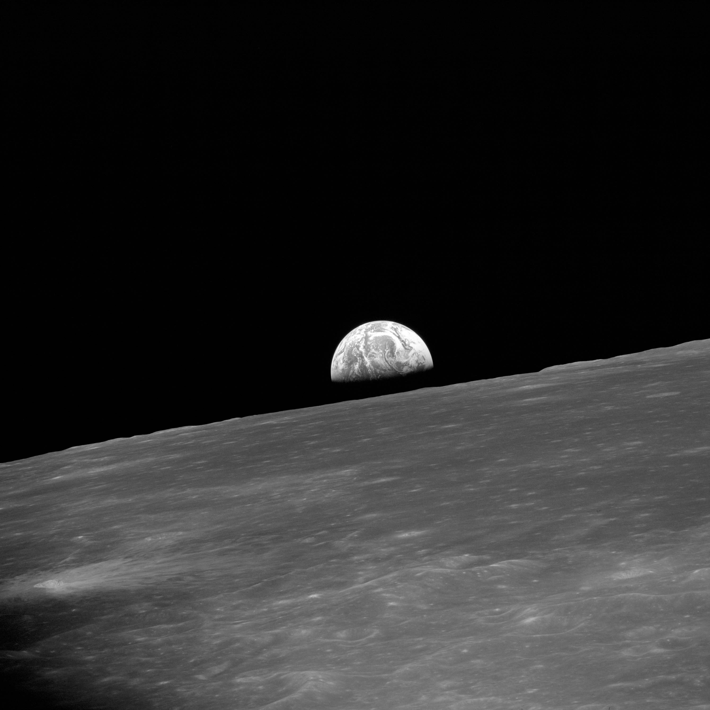 Image result for apollo 10 orbiting the moon