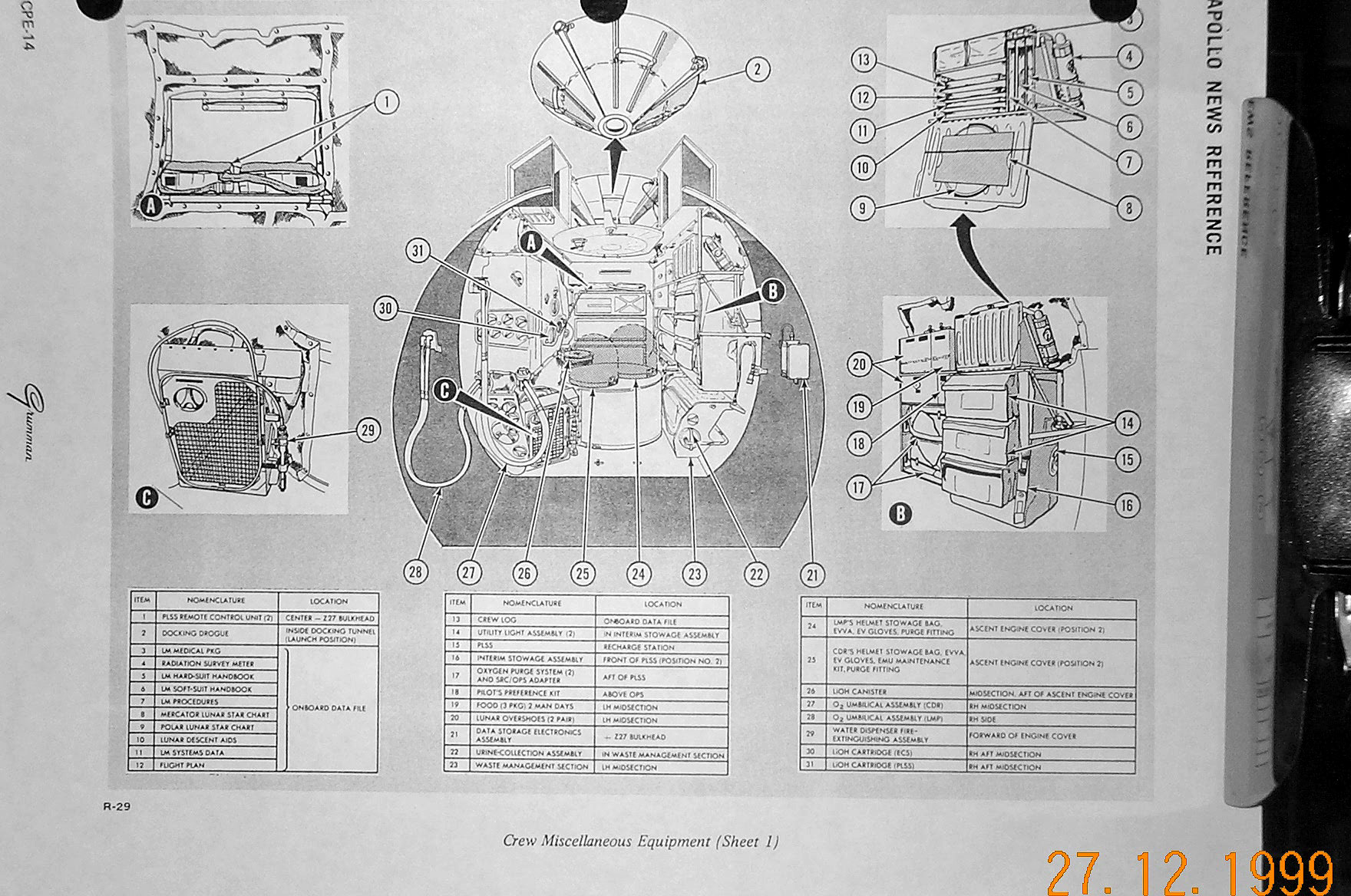 Down The Ladder For Eva 1 Little Wonder Engine Diagrams Isa Is
