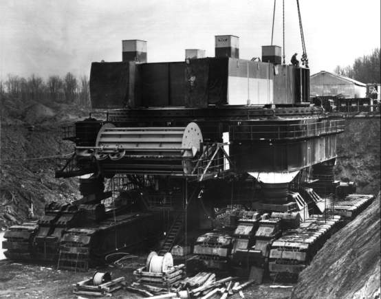 Steam Shovel Crawler