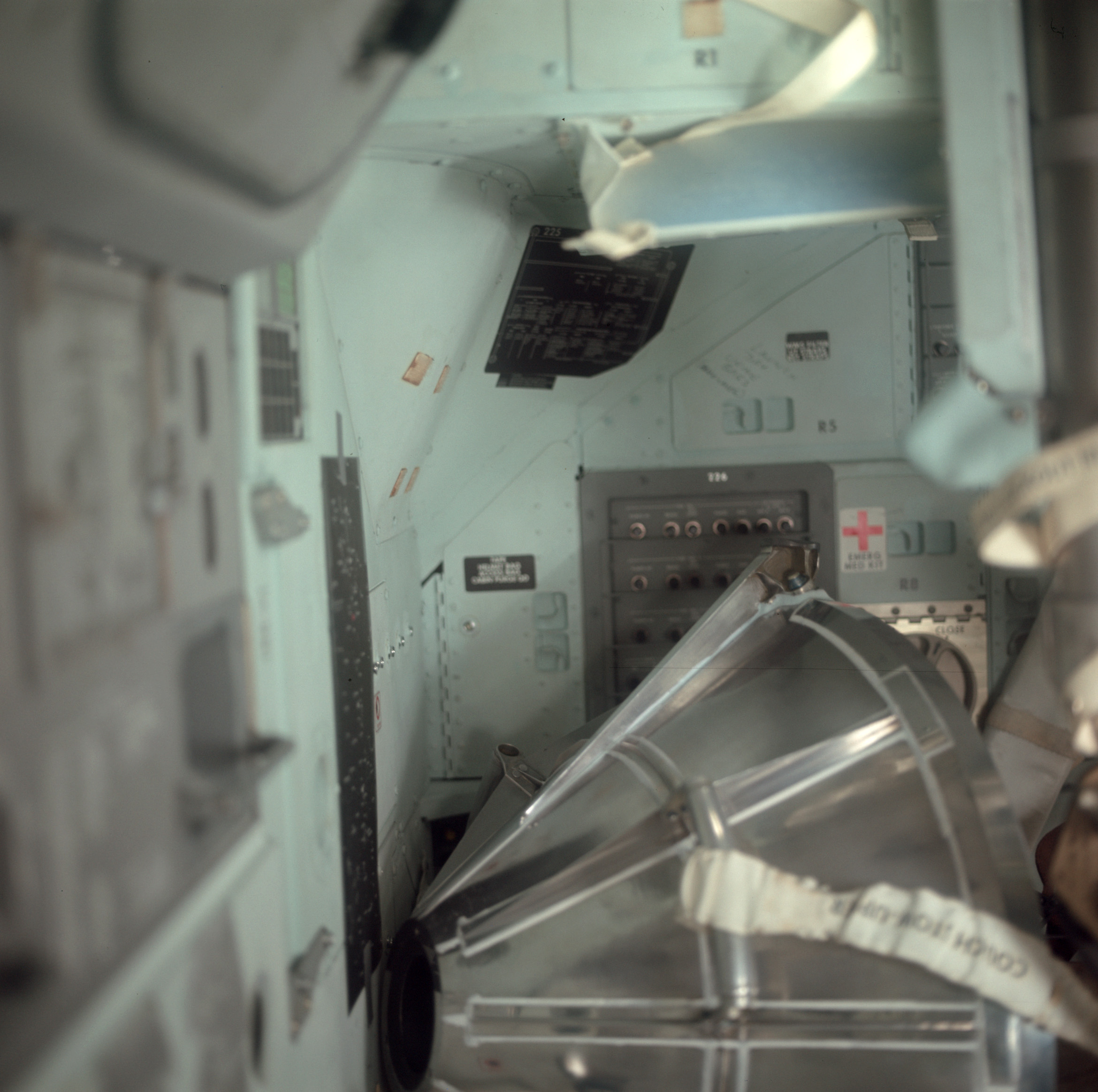 Apollo 11: Writing on command module walls - collectSPACE ...