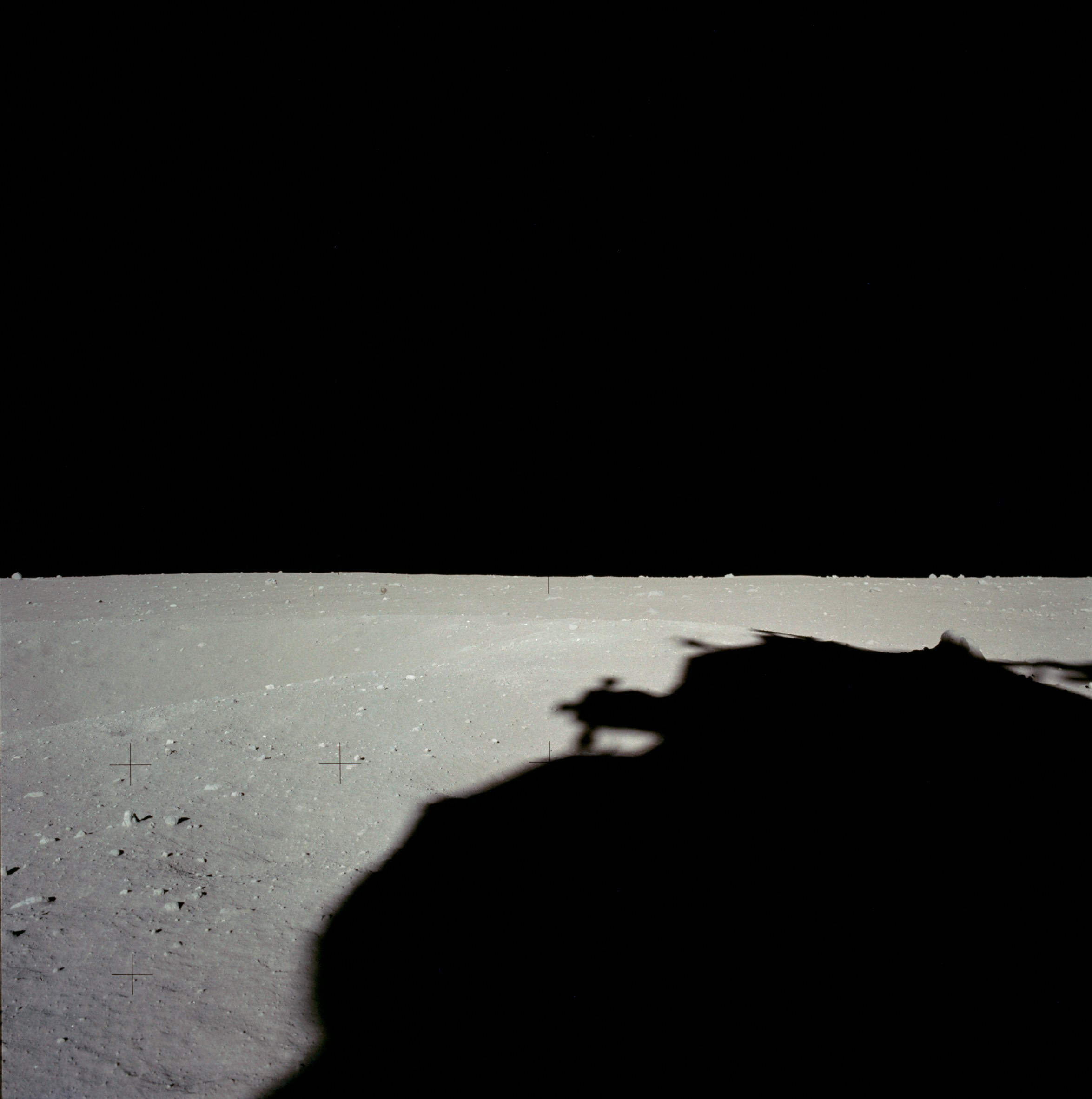 Apollo 11 Anomaly on the Lunar Surface AS11-40-5854HR