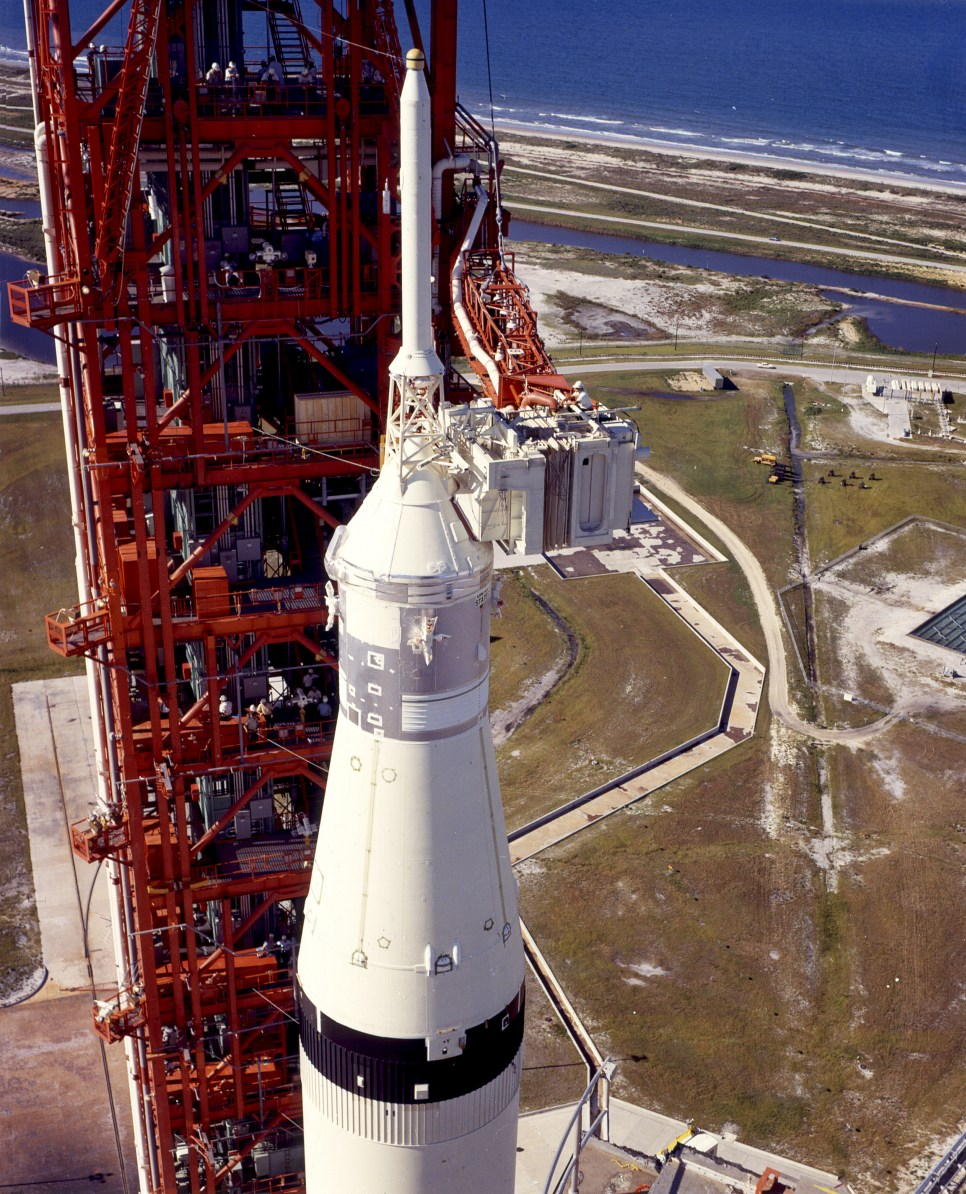 Saturn V Top View