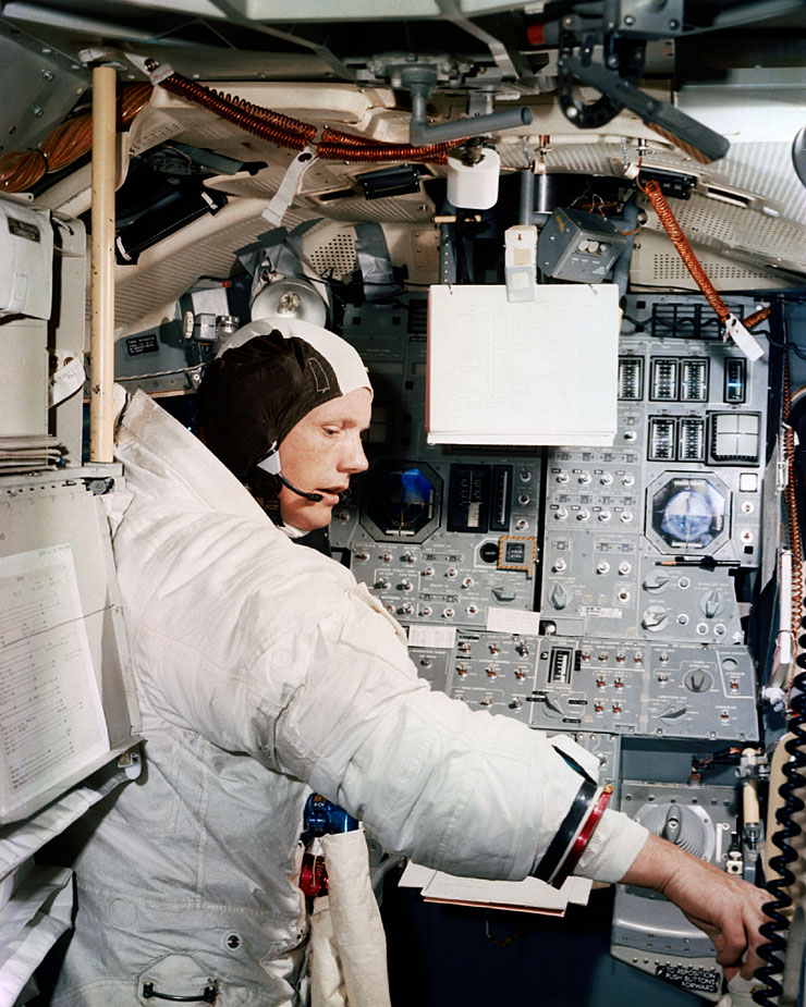 neil armstrong astronaut training - photo #5