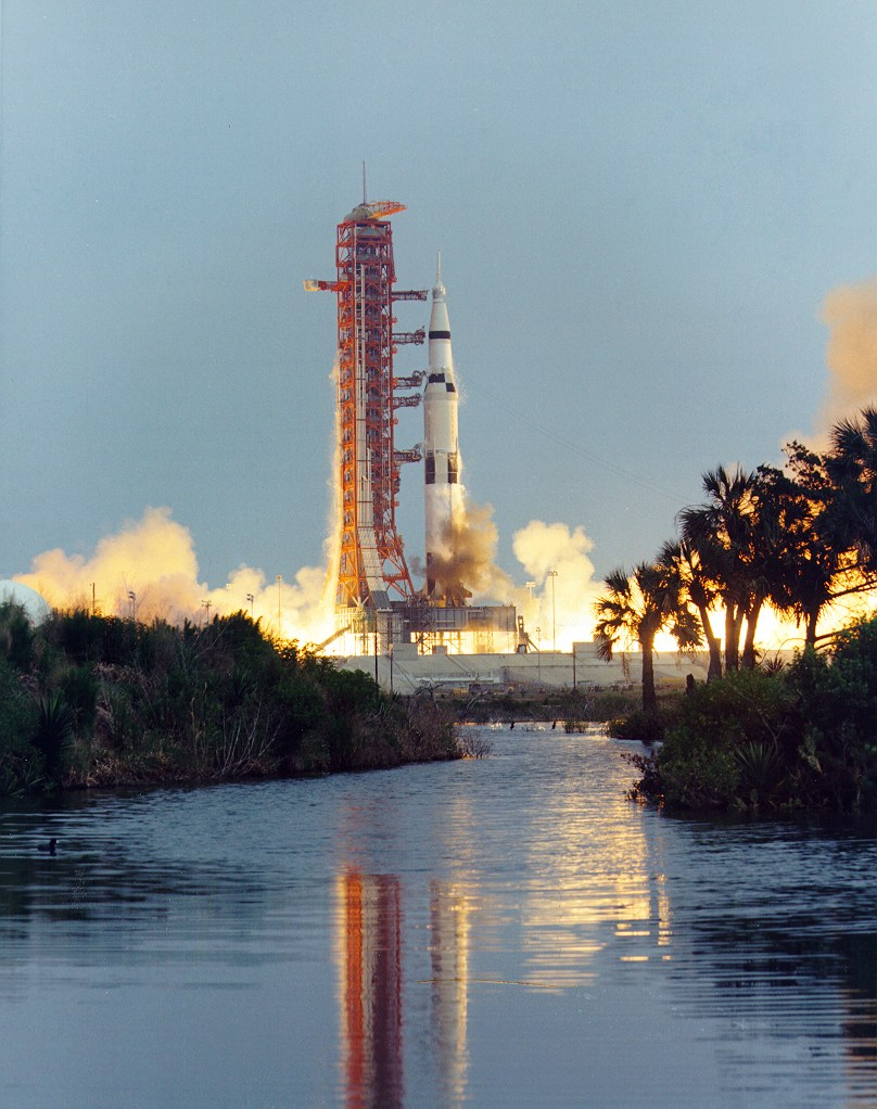 Apollo 13 Launch In 1970,