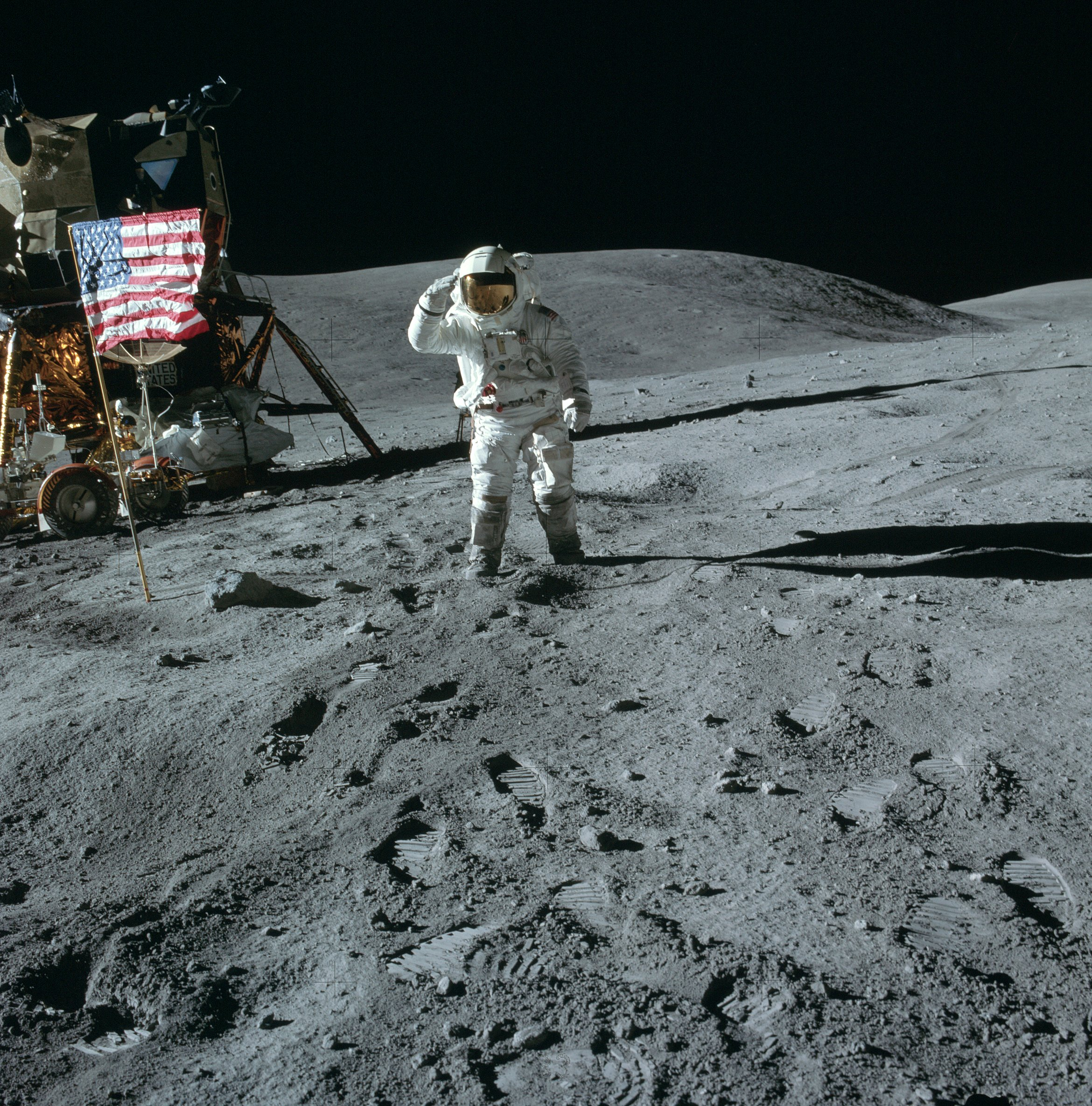 Details revealed in high-resolution Apollo photos ...
