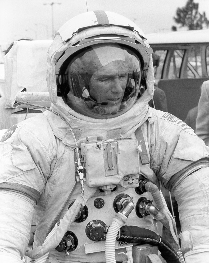 Reuse of flown Apollo spacesuits for training ...