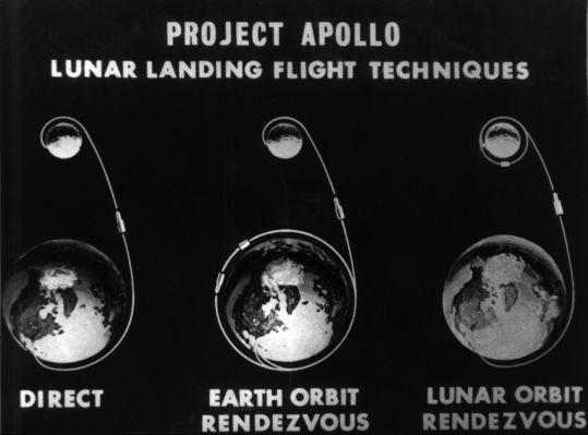Contending lunar landing modes